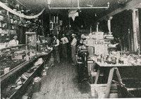 Allen Bros & Snider Hardware Store, 1907