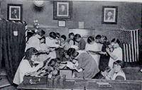 Rural School Children: Traveling Library