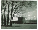 Theatre Building viewed from the southwest, The University of Iowa, 1940