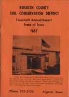 1967 Kossuth County Soil and Water Conservation District Annual Report