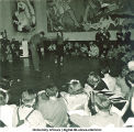 Jitterbug performance at modern art-themed costume dance, The University of Iowa, March  1940