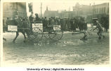 Engineers' parade, The University of Iowa, March 16, 1912