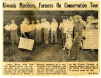 Kiwanis members on a conservation tour.