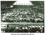 Registration at the Armory, The University of Iowa, 1920s