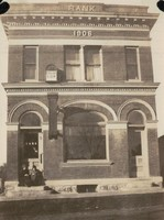 Garnavillo Savings Bank, 1906 - view 2