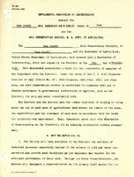 Iowa County Soil Conservation District memorandum of understanding