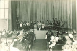 School assembly in Old Dental Building, The University of Iowa, 1920s