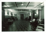 Hallway in the Iowa Memorial Union, the University of Iowa, December 1934