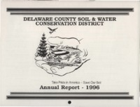 Delaware County Soil Conservation District Calendar & Annual Report - 1996