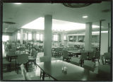 Dining room at Burge residence hall, The University of Iowa, 1960s