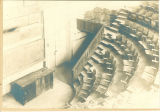 Lecture hall in Old Dental Building, The University of Iowa, ca. 1900