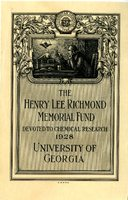 Henry Lee Richmond Memorial Fund Collection Bookplate.
