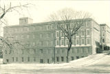 West exterior of Chemistry Building, The University of Iowa, 1960s