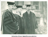 Walter A. Jessup and Eugene A. Gilmore on Inauguration Day, Tthe University of Iowa, 1934