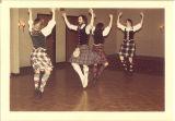Dancers performing Highland fling at Highland Arts and Tartan Ball, The University of Iowa, 1978