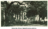 Induction ceremony procession in front of Macbride Hall, The University of Iowa, 1920s