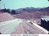 Entry road, Shinkyo commune, Nara-ken, Japan, April 1965