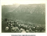 Dedication game at Iowa Stadium, The University of Iowa, October 19, 1929