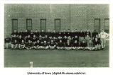 Freshman football team, The University of Iowa, October 8, 1942