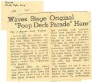 """Waves stage original """"poop deck parade"""" here"""
