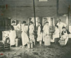 Making ice cream, 1910