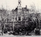Mahaska County Courthouse Dedication Ceremony, February 27, 1886; Oskaloosa, Iowa