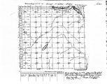 Iowa land survey map of t077n, r032w