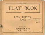Plat book of Lyon County, Iowa
