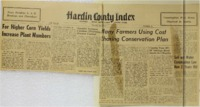 Hardin County Index Conservation Week front page.