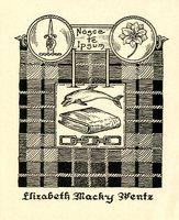 Elizabeth Macky Wentz Bookplate
