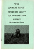 1960 Poweshiek County Soil and Water Conservation District Annual Report