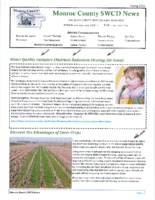 Monroe County SWCD newsletter, 2014
