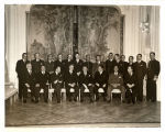 Vice president Henry A. Wallace with President Alfonso Lopez, Colombian cabinet members, and other officials, Colombia, 1943
