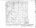 Iowa land survey map of t083n, r043w