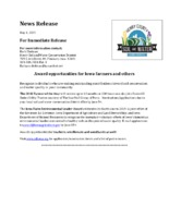 Farmer Of The Year & Iowa Farm Environmental Leader Award