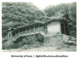 Covered bridge, China, 1944
