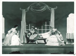 Scene from opera Cosi fan tutte, The University of Iowa, July 1952