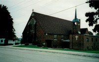 St. Peter Lutheran Church in Garnavillo, Iowa -2000 view 2