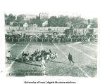 Iowa football team in play, The University of Iowa, 1900