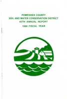 1988 Poweshiek County Soil and Water Conservation District Annual Report