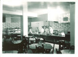 Cafeteria in the Iowa Memorial Union, the University of Iowa, 1950s?