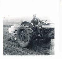 Bob Griffiths planting no-till corn