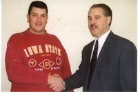 1995 - Rob Mohr receives scholarship