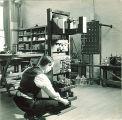 Electrical engineering equipment, The University of Iowa, 1930s