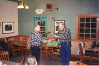 2003 - Dennis Petersen receives the Woodland Owner of the year award from Chairman Don Lounsbury