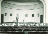 Lecture in Macbride Hall, The University of Iowa, 1920s?