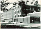 Pharmacy Building from the northeast, the University of Iowa, 1950s