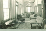 Living room in new Law Commons, the University of Iowa, October 24, 1934