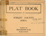 Plat book of Wright County, Iowa