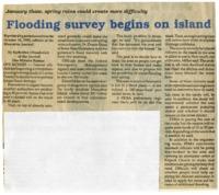 Flooding survey